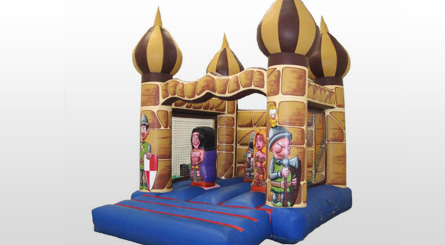 Castillo Hinchable Árabe