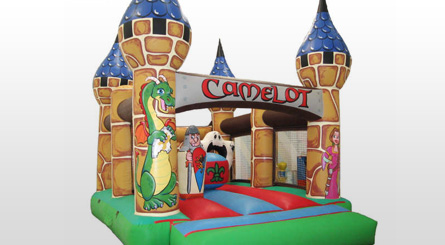 Castillo Hinchable Camelot