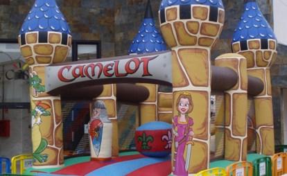 Castillo Hinchable Camelot