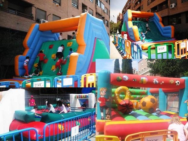Parque Hinchable Deportivo